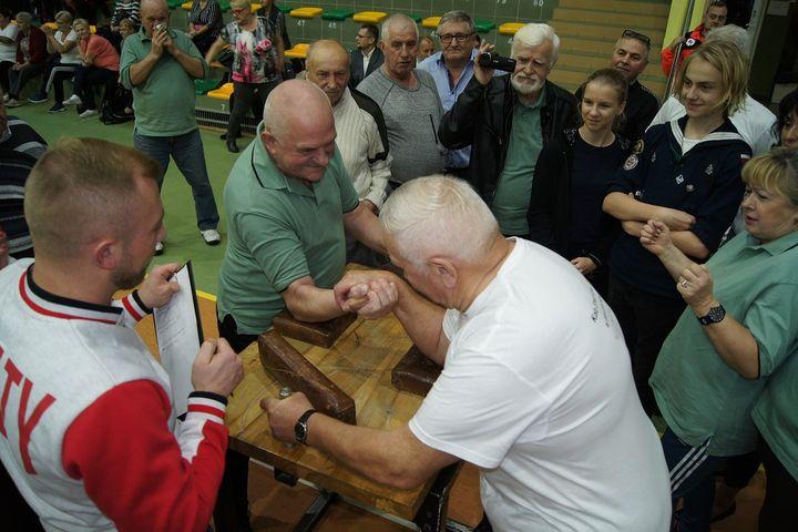 Dzień Aktywnego Seniora w Mławskiej Hali Sportowej