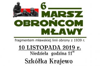 10 listopada 6 Marsz Obrońcom Mławy