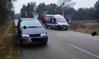 Śmiertelne potrącenie pieszej w pobliżu Woli Błędowskiej