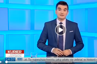 Przestępca z Przasnysza zadziwił nawet TVP