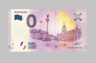 Powstał banknot o nominale… 0 euro. Teraz już w polskiej wersji