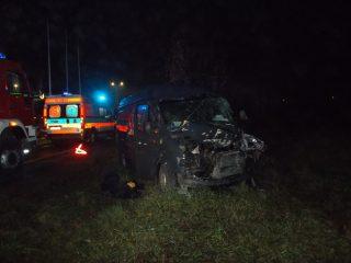 68-letni mieszkaniec Mławy trafił do szpitala. Trudne warunki na drogach. Ciechanowska policja apeluje o ostrożną jazdę