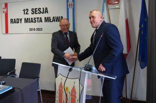 Krzysztof Bartoszczyk objął mandat radnego