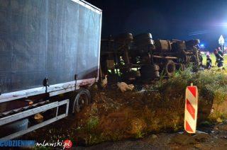 Krasne. W wywróconej ciężarówce udusiło się 5500 kurcząt