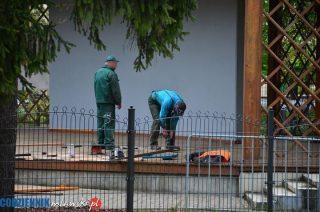 Będzie wykonawca remontu estrady w parku, ale nie będzie udogodnień dla niepełnosprawnych ?