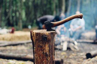 Nieświadomi czy nieuczciwi? Na zwolnieniu rąbią drewno lub wykonują inne prace
