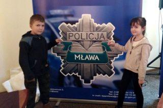 A może i ja zostanę policjantem?