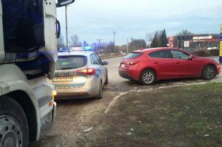Mława. Wypadek na ulicy Płockiej