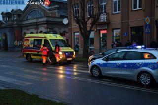 Potrącenie pieszej na ulicy Żwirki [zobacz foto]