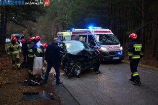 Wypadek pod Piekiełkiem, kolizja na Batalionów Chłopskich [zobacz zdjęcia i film]
