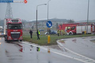 Wypadek na skrzyżowaniu Padlewskiego i DK 7 [zobacz foto] Aktualizacja