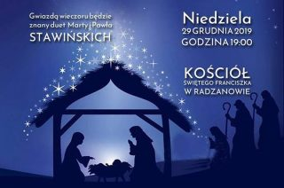 Zapraszamy na koncert świąteczny w Radzanowie