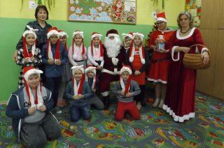 Mikołajki w Szkole Podstawowej w Bogurzynie