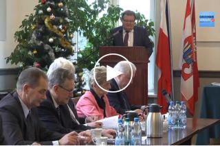 Zapraszamy: Trwa transmisja z XII sesji Rady Powiatu Mławskiego