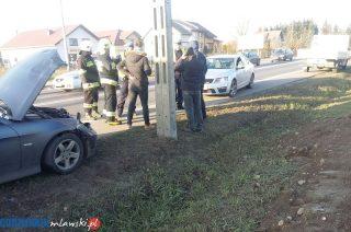 Wypadek w Strzegowie. Jedna osoba ranna[zobacz foto]