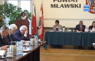 Zobacz: Trwa transmisja XIII sesji Rady Powiatu Mławskiego. Zapraszamy!