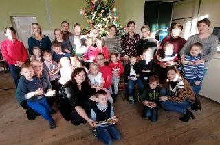 Warsztaty bożonarodzeniowe 6-latków z Dzierzgowa