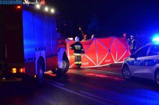 Śmiertelne potrącenie pieszego na DK 7 w Modle -aktualizacja [zobacz foto]