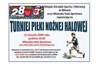 Turniej piłki nożnej WOŚP. Zapisz drużynę
