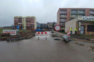 Uwaga! Zamknięty jest wjazd na Osiedle Książąt Mazowieckich od ulicy Sienkiewicza