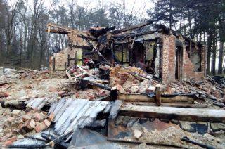 Żołnierz stracił dobytek życia w pożarze