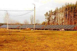 Pierwsza farma fotowoltaiczna w Chorzelach