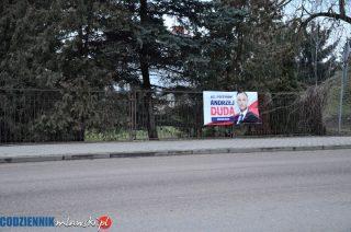 Kampania wyborcza w toku. W Mławie pojawiły się pierwsze banery