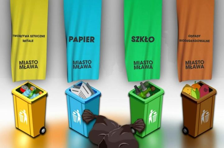 Jak segregować odpady w Mławie. Zobacz film!