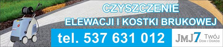 jmj7 czyszczenie kostki brukowej i elewacji Mława i okolice