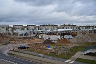 Czy plac budowy galerii handlowej na OKM jest zabezpieczony właściwie?
