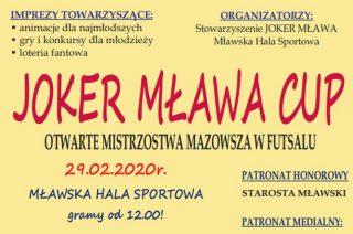 Zapraszamy na Joker Mława Cup!