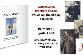 """Już w czwartek – warszawska premiera książki """"Odbicia Mławy"""""""