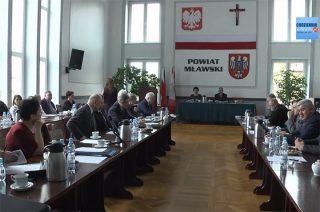Trwa transmisja: XIV sesja Rady Powiatu Mławskiego