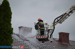 Czarnocin. Gaszenie pożaru trwało ponad 4 godziny