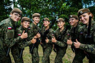 Kobiety w mundurach. Wśród terytorialsów jest ich 3,5 tys.