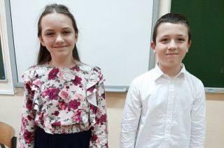 Szkolne eliminacje Warszawskiej Syrenki wygrywają Emilia Wydra i Jan Lempek