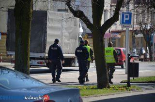 Policyjno – wojskowe patrole na ulicach miasta