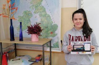 Julia Sobczak laureatką ogólnopolskiej olimpiady języka angielskiego
