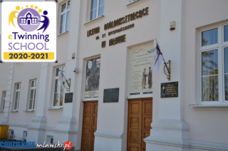 I LO w Mławie otrzymało odznakę Szkoła eTwinning