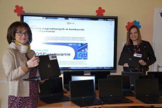 Mobilna pracownia komputerowa już w KSP w Mławie