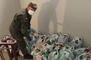 6 ton żywności dla mieszkańców gminy Glinojeck