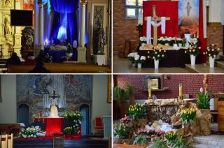 Groby Pańskie w mławskich parafiach