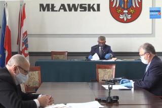 Trwa transmisja: XV sesja Rady Powiatu Mławskiego