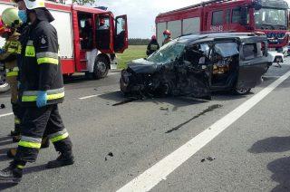Wypadek koło Dalni. Znamy wstępne ustalenia policji