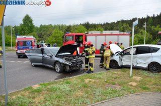 Wypadek na skrzyżowaniu ul. Marszałkowskiej ze Szpitalną [fot.] Aktualizacja