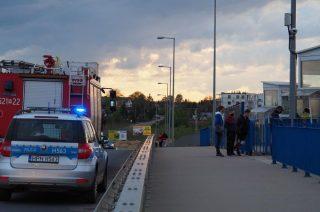 Nastolatek uwięziony w windzie na Wiadukcie Szreńskim [zobacz fot]