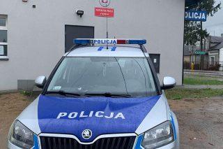 Policjantki z Szydłowa namierzyły złodzieja paliwa. Podczas zatrzymania miał w samochodzie narkotyki