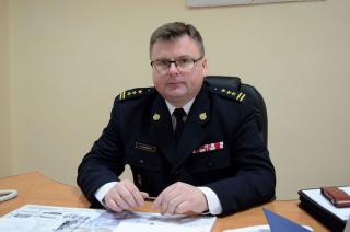 St. bryg. Zbigniew Kąpiński nowym komendantem mławskiej straży pożarnej
