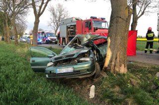 Wypadek w Gąskach. Zginęła 23-letnia mieszkanka naszego powiatu