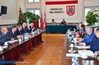 Możesz zabrać głos w debacie nad raportem o stanie powiatu mławskiego. Jest jednak warunek